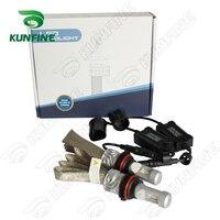 12V 24V 72W Car LED Headlights High Low 9004 Bulb Car Fog Lamp Track HeadLight Lamp
