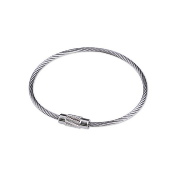100 pcs Wholesale Stainless Steel High Quality Keychian Fashion Key Ring Key Holders DIY Design Rings