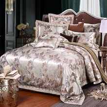 4pcsKing queen Bedding Set Luxury Bedding Sets Cotton High Quality Jacquard Bedding Duvet Cover Bed Sheet pillowcase