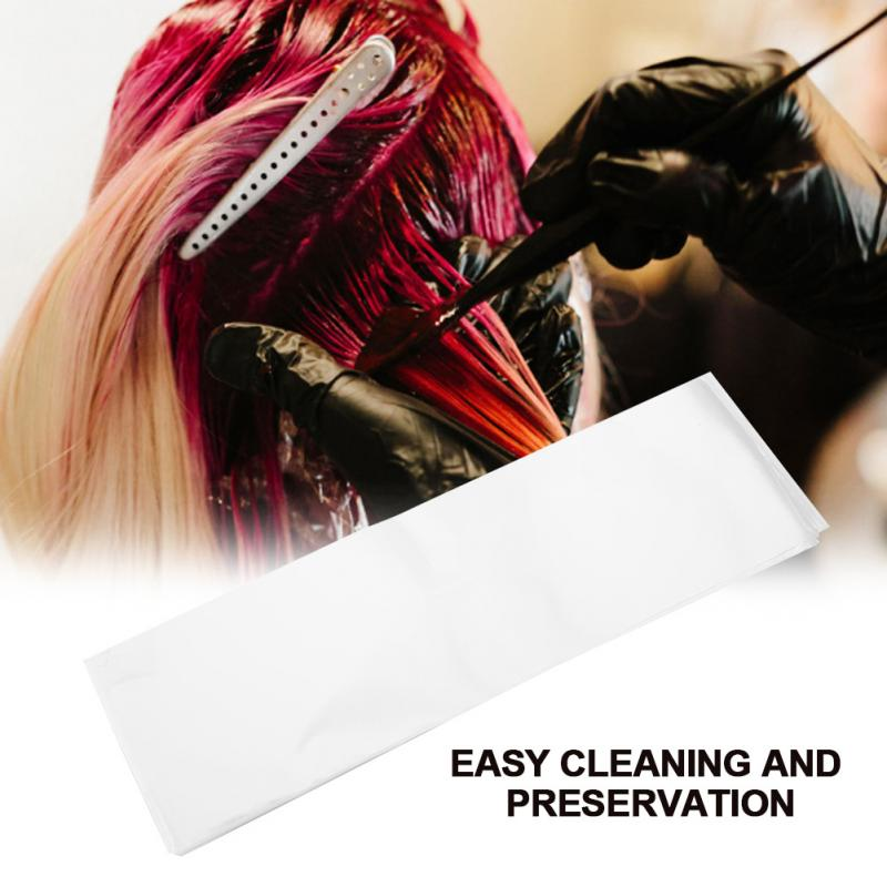 100pcspack Professional Salon Hair Dye Paper Recycleable Separating