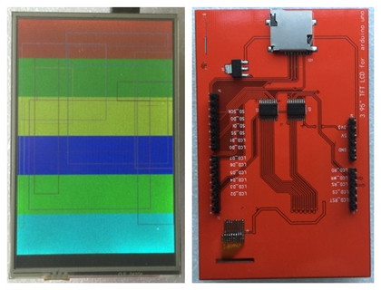 NoEnName_Null R3 Board 3.95 inch TFT LCD Module Screen with Touch Panel ILI9488 R61581 Drive IC 400*320