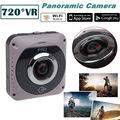 Frete grátis! GV720B VR de 360 graus Da Câmera de 220 Graus Lente Olho de Peixe de Vídeo Construído em Wifi 2600 mah Da Bateria