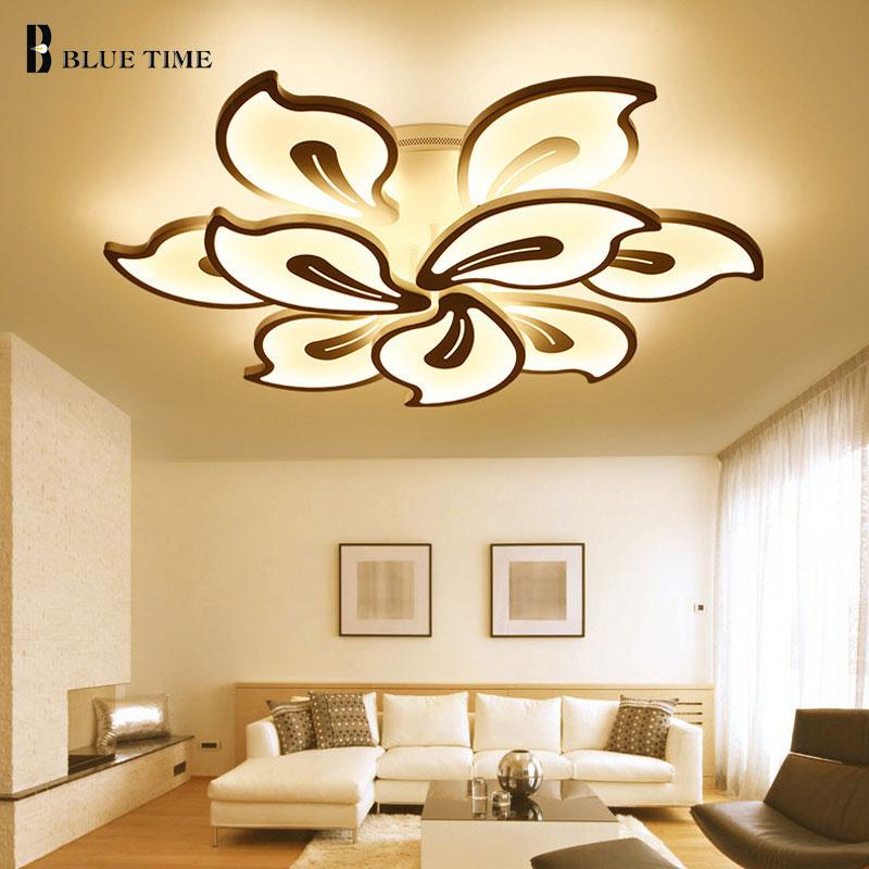 Acrylic Modern ceiling lights for living room bedroom White ...