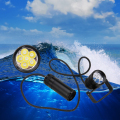 Diving flashlight Tactical 6000 Lumens 6x XM-L2 LED Diving Flashlight Torch 100M Underwater Waterproof 18650