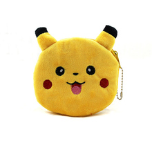 New 2016 Pikachu / Stitch  Children Coin Purse/Coin Bag/Lady Cute Wallet Pouch/Women Girl Makeup Buggy Bag/Free Shipping