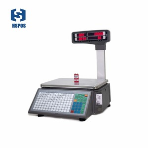 Image 1 - barcode printing Electronic weighing Scales with 10000 PLUs data storage capacity for supermarket meat shop or fruit shop