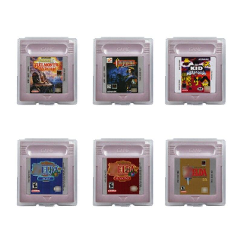 16 Bit Video Spiel Patrone Konsole Karte Die Legendd von Zeldaa und Castlevaniaa Serie Englisch Sprache Version Ausgabe