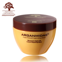 Professional Natural Hair Mask Moroccan Argan Oil Protein Hair Mask make Hair Smoothy Shiny Softening Free Shippng