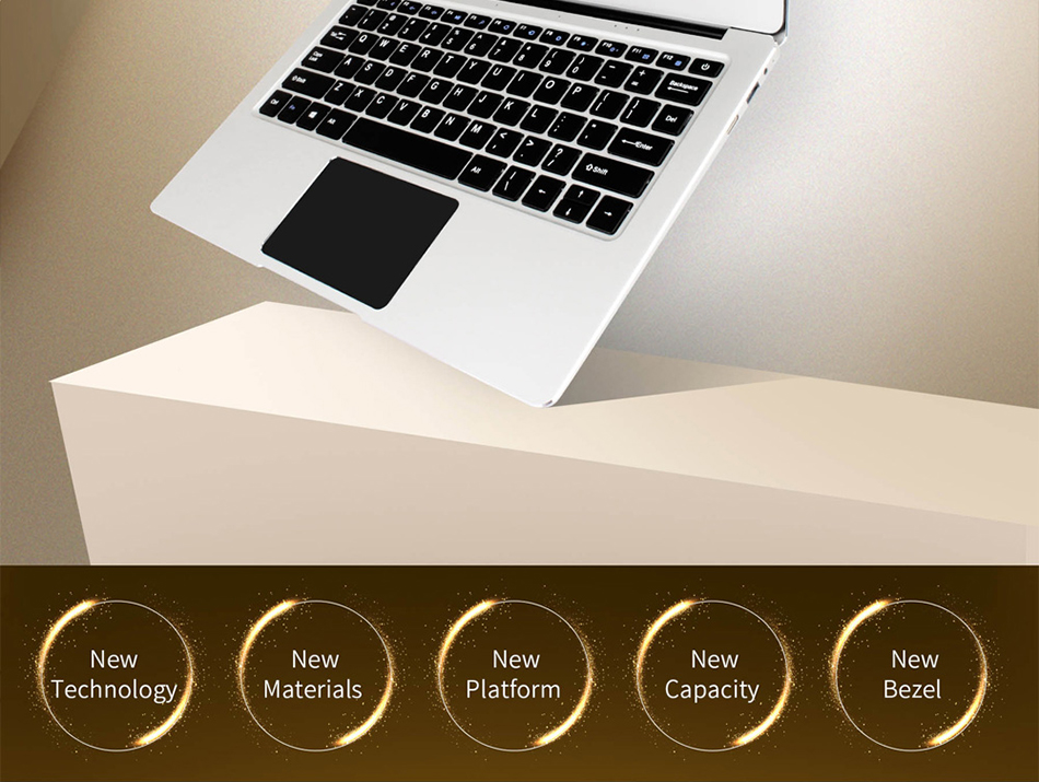 Jumper EZbook 3 Pro Intel Apollo Lake N3450 6G DDR3 64GB eMMC ultrabook IPS 1920 x 1080 laptop with M2 SSD Slot (2)