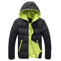 Men S Winter Fashion With Cotton Hooded Hood Toward Casual Short Casual Parka Men S Hooded