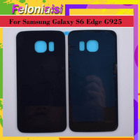 battery samsung galaxy 10Pcs/lot For Samsung Galaxy S6 Edge G925 G925F G925T Housing Battery Door Rear Back Glass Cover Case Chassis Shell Replacement (2)