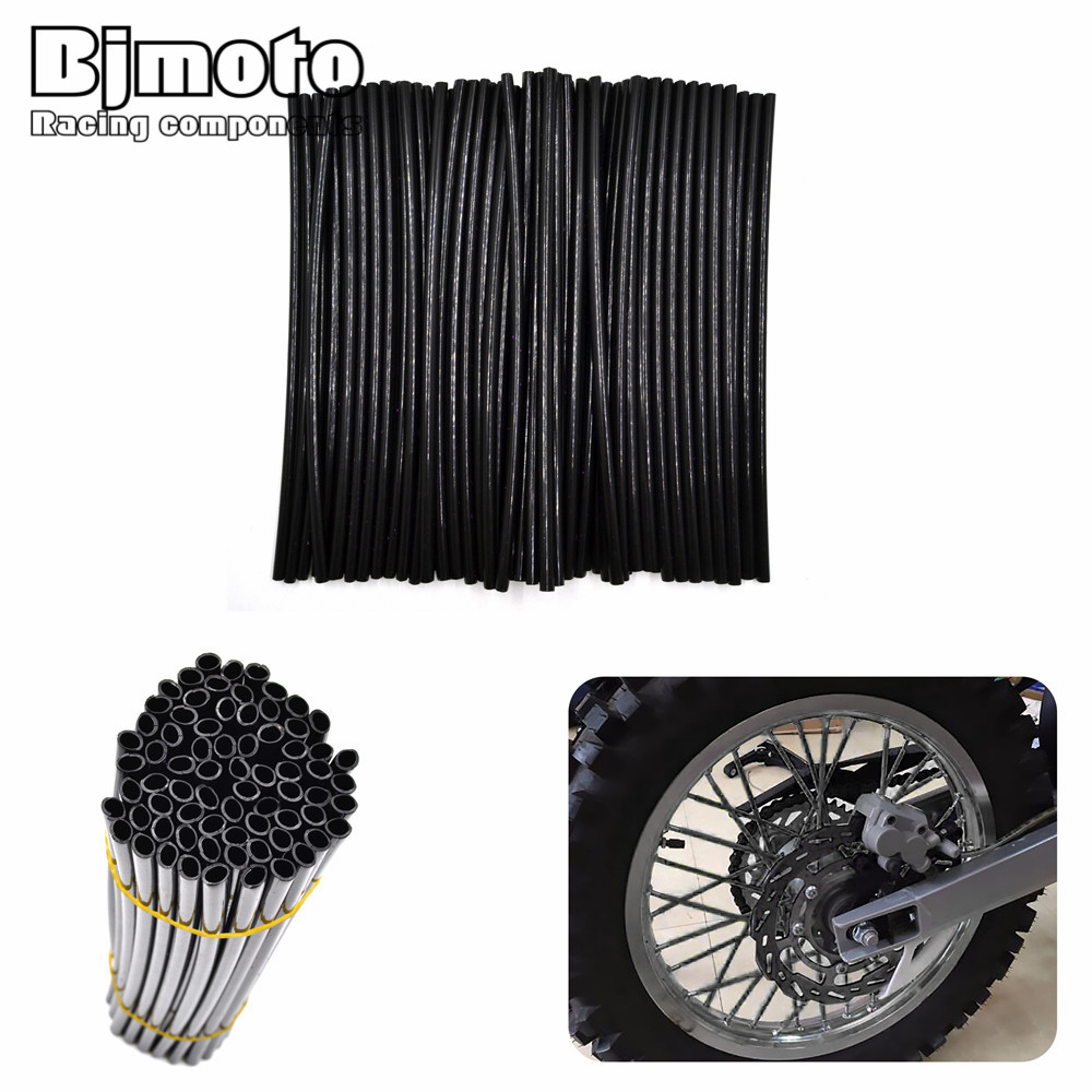 Universal Motorcycle Dirt Bike Enduro Off Road Wheel Rim Spoke Shrouds Skins Covers For KTM 65/8580/125/250/450/500 motocross dirt bike enduro off road wheel rim spoke shrouds skins covers for yamaha yzf r6 2005 2006 2007 2008 2009 2010 2011 20