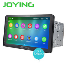 """JOYING 8"""" Quad Core Android 5.1 GPS Navigation HD Display Car Double Din Radio Audio WIFI 4G System Auto DVD Multimedia Player"""
