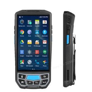 Image 2 - 5.0 inç 1D/2D QR barkod tarayıcı NFC WIFI PDA Android 7.0 5 inç kablosuz taşınabilir barkod okuyucu el POS terminali