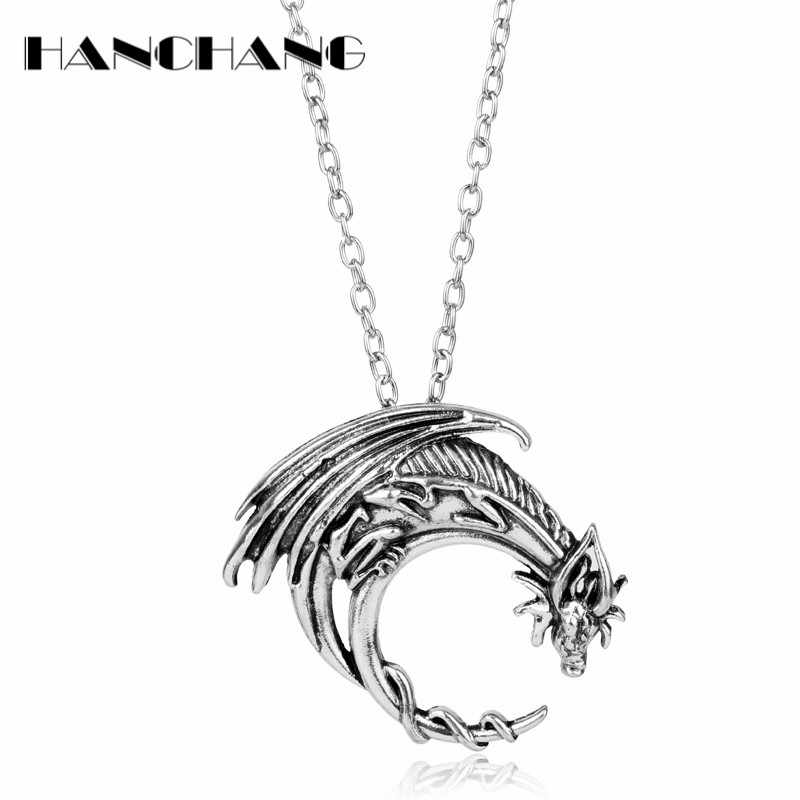 Game Of Thrones Jewelry Song Of Ice And Fire House Targaryen Dragon Pendant Necklace With Chain Charms Aliexpress