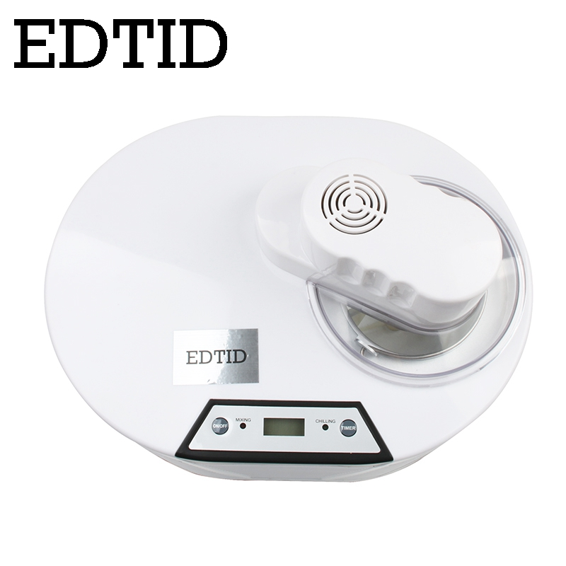 EDTID Self Cooling Ice Cream Maker used for Commercial and Home Kitchen to Prepare Delicious Ice Cream and Frozen Yogurt 1
