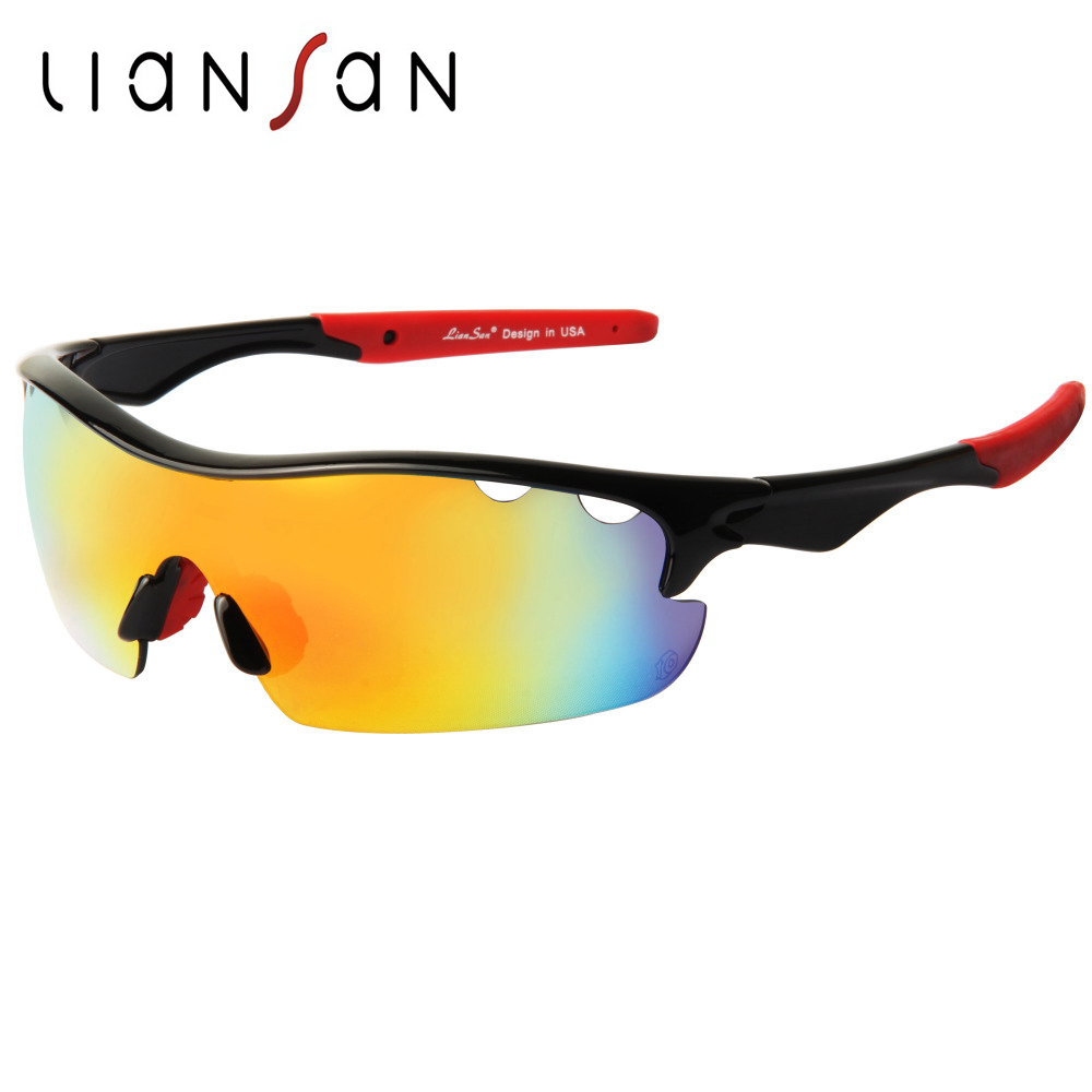 LianSan font b Polarized b font Sport Protective Sunglasses Women Men Original Brand UV400 Colorful Driving
