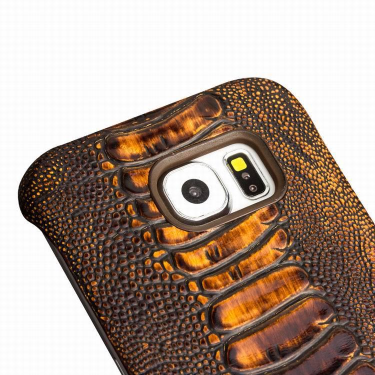 QIALINO շքեղ իրական կաշվե հեռախոս պատյան - Բջջային հեռախոսի պարագաներ և պահեստամասեր - Լուսանկար 4