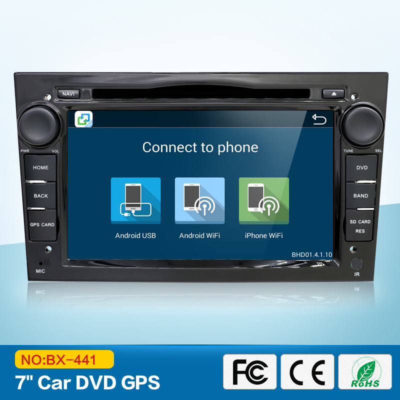 4 Core Android 6 0 HD1024 600 Car DVD Player 2G RAM For Opel Tigra Combo