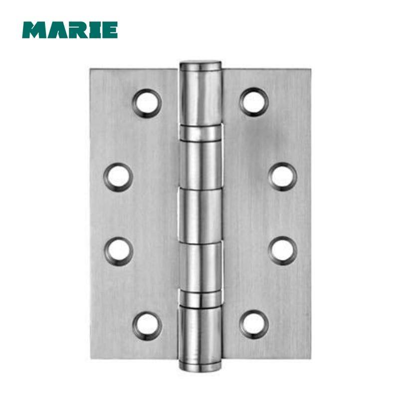 Dobradiça de aço inoxidável #201 dobradiça automática do armário da porta do armário ferragens e acessórios de móveis dobradiça 2 pces com parafusos