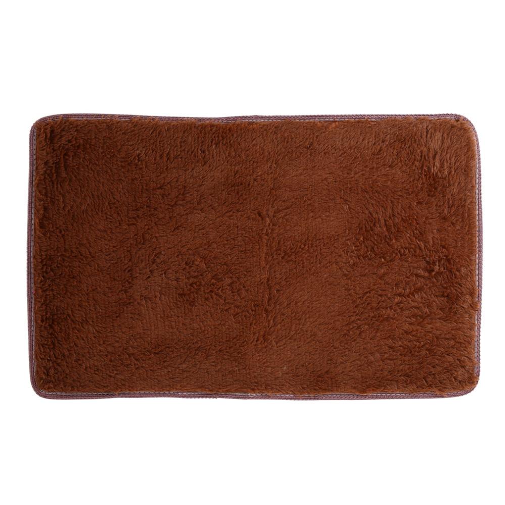 Fashion Soft Absorbent Non Slip Plush Mat Rug Memory Foam Entrance Doormats Carpets Home Living