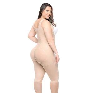 Image 2 - Kadın bel eğitmen zayıflama vücut şekillendirici Feminino Bodysuits modelleme kayışı firma Shapewear Bodysuit 6XL artı boyutu