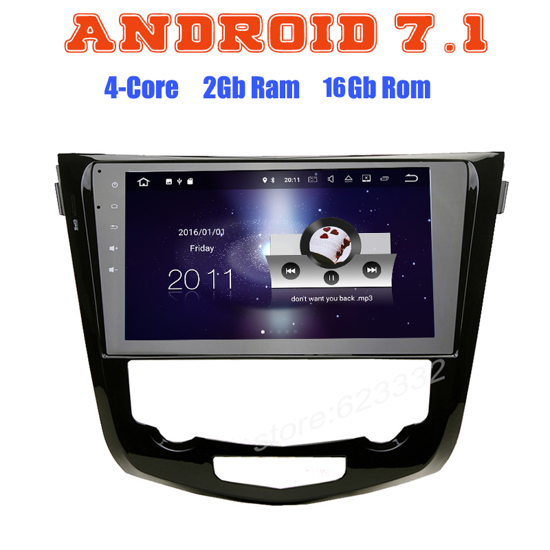 For Nissan X Trail Xtrail Qashqai 2014 2015 2016 Quad Core Android 5 1 Car GPS
