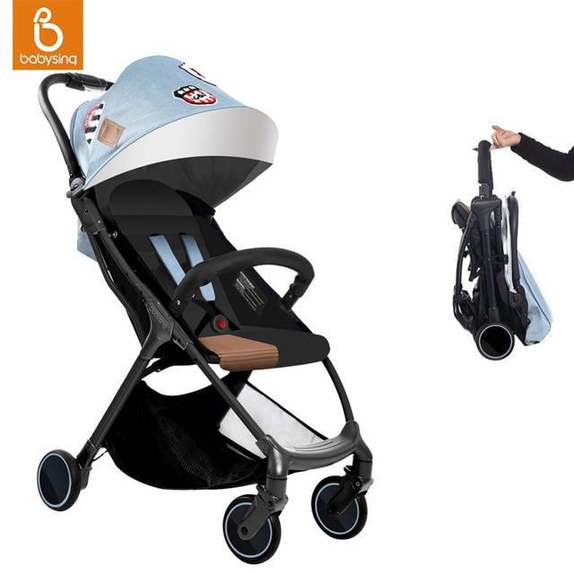 Супер легкая прогулочная коляска Babysing S-GO