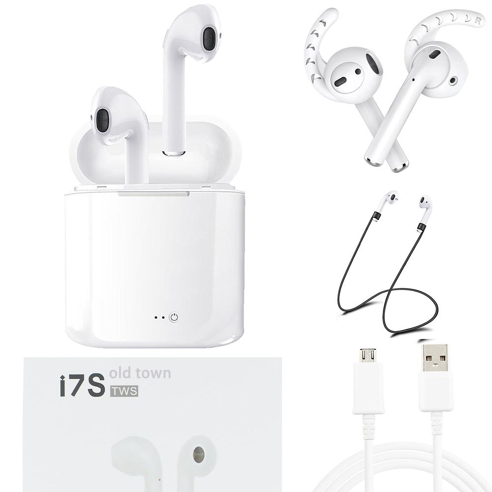 TWS i7s Wireless ear pods car Bluetooth Head phone Earphone