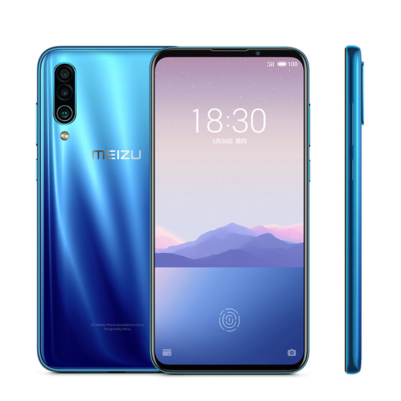 "Image 3 - Global Version Meizu 16XS 6GB 64GB 16 XS Smart Phone Snapdragon 675 6.2"" 48MP Triple Camera AI Front 16MP 4000mAhCellphones   -"