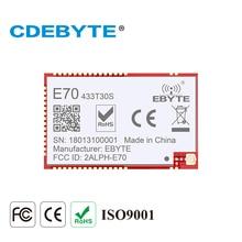 CDEBYTE E71-433MS30 CC1310 433MHz UART I/O SMD module Long Range 6km Wireless rf Transmitter Receiver Module