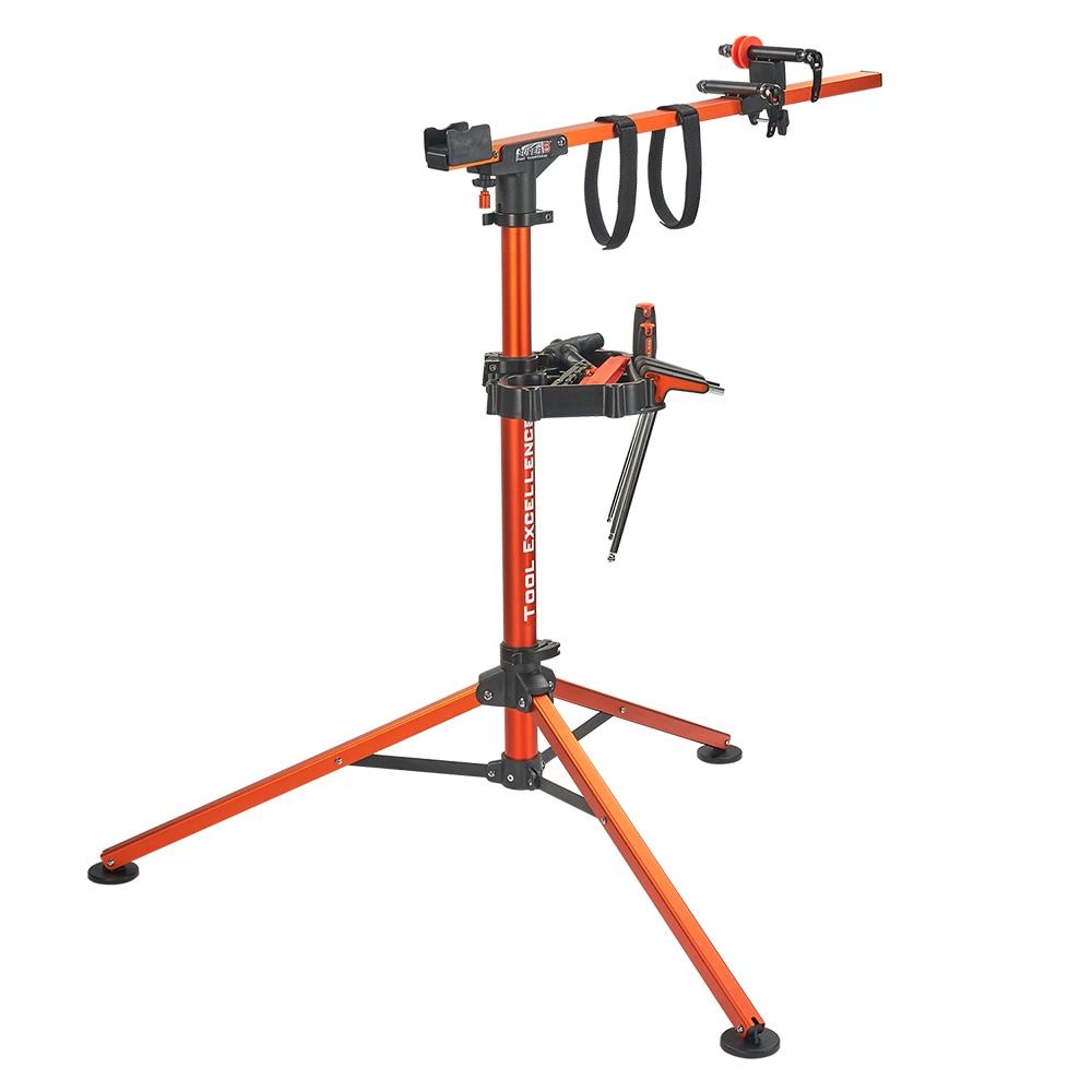 Super B Professional Work Stand Rotates 360 Degree For Easy Maintenance Lightweight Aluminum Bike Bicycle Repair