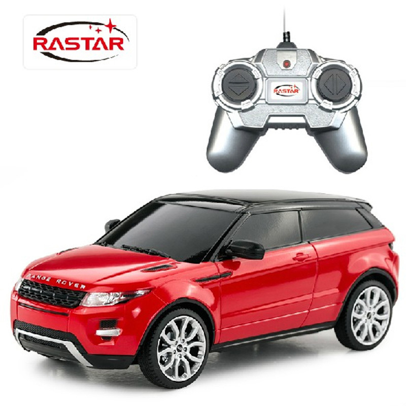 freeshipping children rastar range rover evoque 1 24 remote control rtr electric rc cars toys. Black Bedroom Furniture Sets. Home Design Ideas
