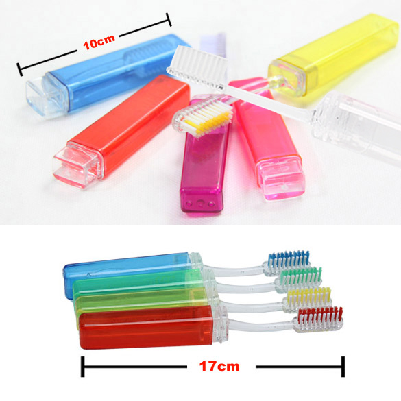High Quality Foldable Toothbrush Tooth Brush/Camping Travel Outdoor Toothbrush Wholesale 88 @ME88 image