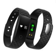 Продвижение оригинальный Bluetooth Smart Браслет S08 smart Сердечного ритма Мониторы браслет Фитнес трекер для андроид iOS PK ID107