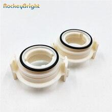 Rockeybright 2 шт. D2S ксенон для HID фар Адаптеры лампы держатели для BMW E46 325ci 325i 330ci 330i M3 328Ci 323i HID адаптер