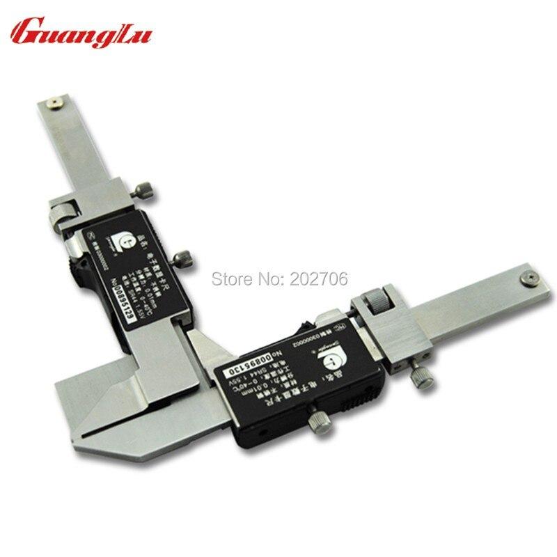 Guanglu M1-25 цифровой Шестерни зуб суппорт Шестерни зуб штангенциркуль Шестерни зуб толщина измерения суппорт