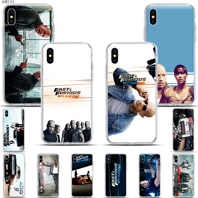 SOFT TPU <font><b>Phone</b></font> <font><b>Case</b></font> for <font><b>iphone</b></font> 11 11Pro Max X XR XS Hobbs and Shaw clear <font><b>cases</b></font> for 8 7 6s plus <font><b>5se</b></font> 4 Fast and Furious Presents image