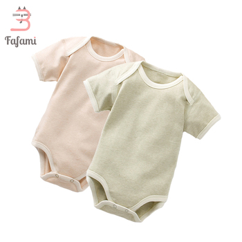 2 Pcs/set Baby bodysuit Baby girl boy clothes for newborn Organic cotton baby clothing children christmas jumpsuit sleepwear 2
