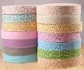 Тканевые ленты для обивки одежды  однотонные хлопковые ленты для обивки одежды в цветочек  3 5 см