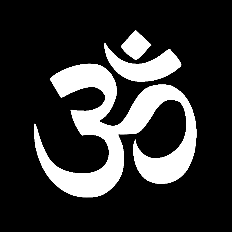 Om Aum Symbol Yoga Car Sticker Truck Boat Window Bumper Vinyl Car