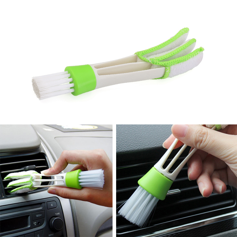 Car brush dust Tools Auto Cleaning Accessories For KIA Rio Ceed Sportage <font><b>Mazda</b></font> 3 <font><b>6</b></font> Cx-5 Peugeot 206 307 308 207 image
