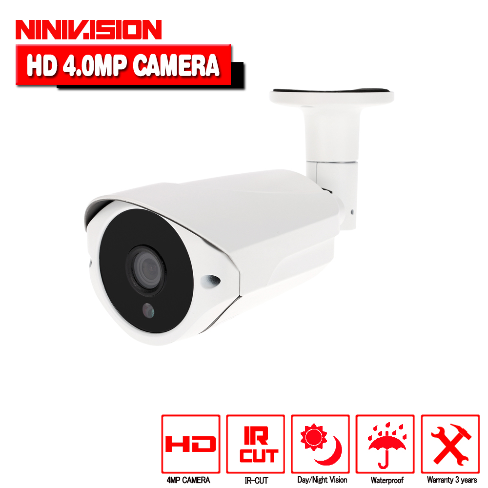 Super 3MP 4MP Full HD CCTV 36 IR LED Night Vision Metal Infrared Outdoor Waterproof Bullet Surveillance Security AHD Camera smar super hd 3mp 4mp ahd security camera ahdh outdoor waterproof cctv bullet camera home video surveillance 36 ir leds camera
