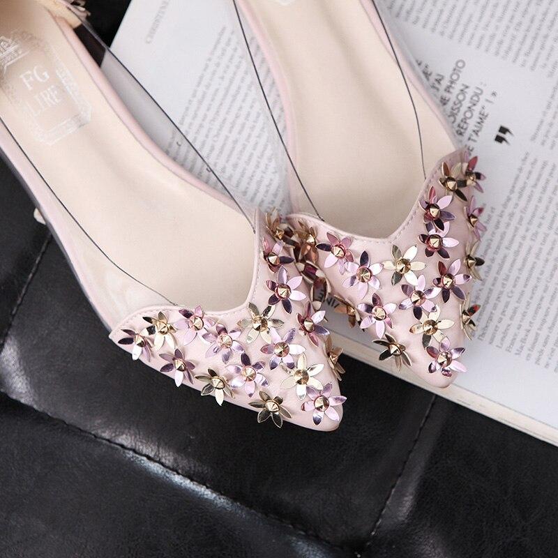Delle Il A Casual Zapatos Q402 Mocassini Nero Moda Estate Rosa Nuove Mujer  Strass Ladise Punta Di colore Scarpe Donne Donna dWaRCdqw 13d658f14b7