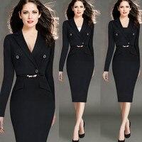 Women Vestidos Robes Plus Size Maxi Autumn Winter Dress 4XL Women Sexy Black Bodycon Party Dresses
