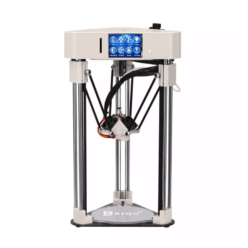 TTGO 3D printer BIQU Magician High precision Mini kossel Desktop printer Fully Assembly with Titan Extruder clone 3D printer pre sale biqu magician full assembly desktop 3d printer 2 8 inch touch screen titan extruder 32 bits control board kossel delta