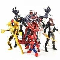 Marvel Legends 2018 MONSTER VENOM BAF Wave Action Figure 6 Carnage Poison Spider Man Ham Pig Scream Typhoid Mary Peter Porker