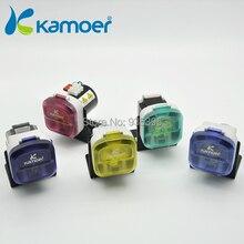 Kamoer 12V 24 V mini peristaltic font b pump b font with Stepper motor Max 900ml