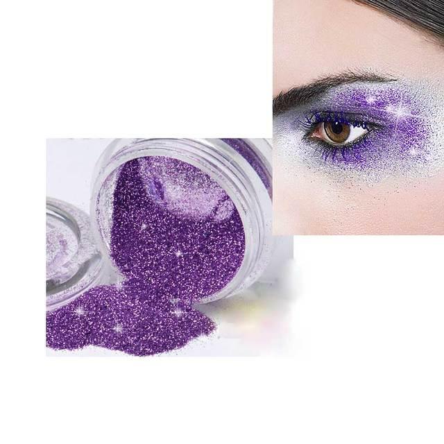 Glitter Cosmetica Professionele Kleurrijke 12 Kleuren Oogschaduw Poeder Make Eyeshadow Vrouwen Gezicht Schoonheid Cosmetische Makeup Tools