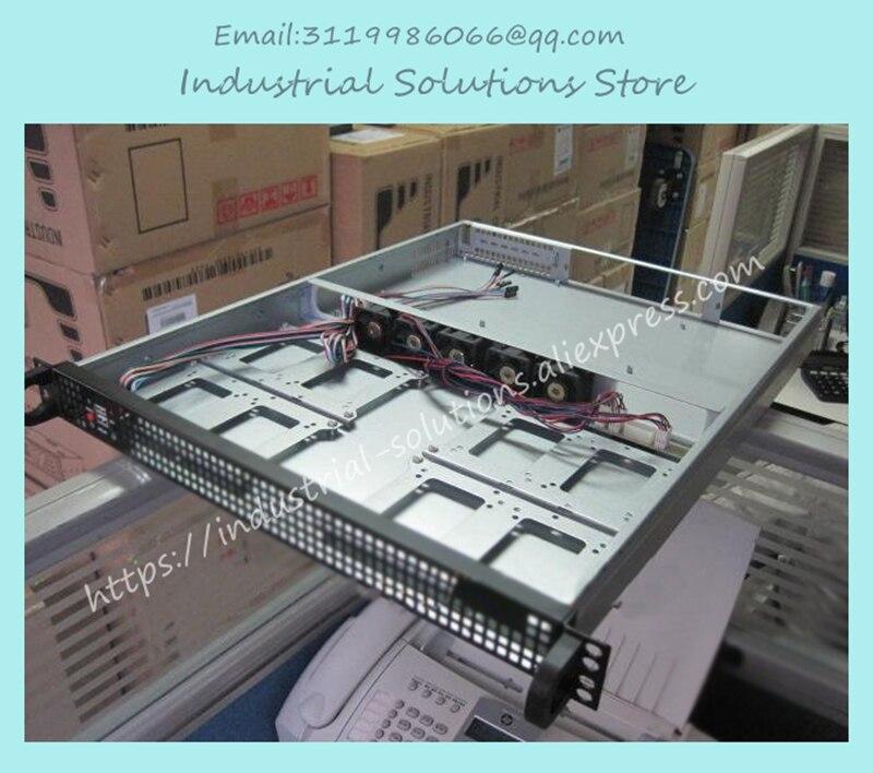 Здесь можно купить   NEW 1U550 server computer case industrial computer case 4 hard drive 5 speed fan Инструменты